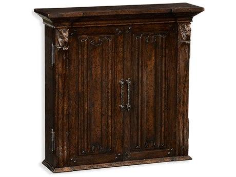 Jonathan Charles Tudor Oak Dark Brown Tudor Oak Console Cabinet JC494417TDO