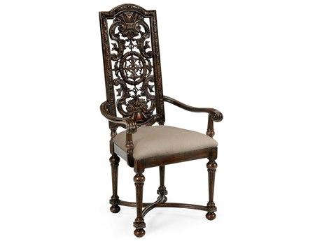 Jonathan Charles Tudor Oak Dark Brown Tudor Oak Dining Chair JC493245ACTDOF001