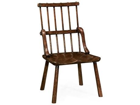 Jonathan Charles Tudor Oak Dark Brown Tudor Oak Dining Chair