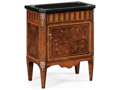 Jonathan Charles Venetian Medium Satinwood Console Cabinet