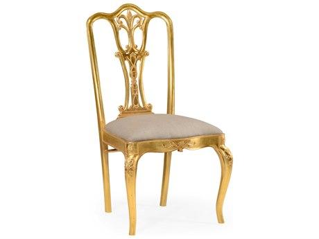 Jonathan Charles Versailles Medium Figure Walnut Dining Chair