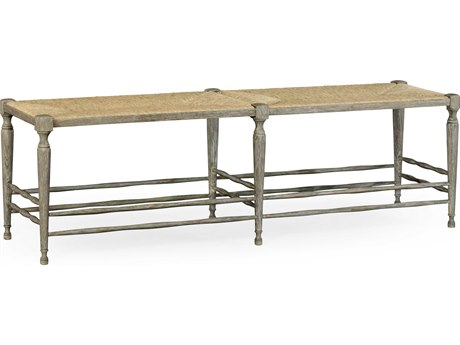 Jonathan Charles William Yeoward Greyed Oak Accent Bench JC530001GYO