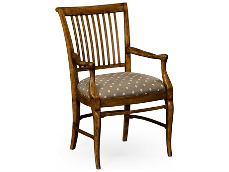 Jonathan Charles William Yeoward Grey Fruitwood Accent Chair JC530009GFA