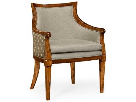 Jonathan Charles William Yeoward Grey Fruitwood Accent Chair