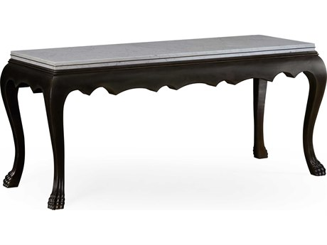 Jonathan Charles William Yeoward Ebonized Oak 68.5 x 27.5 Rectangular Coffee Table