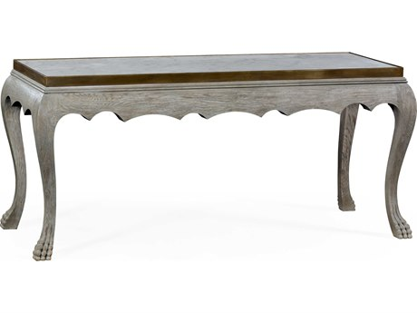 Jonathan Charles William Yeoward Greyed Oak 68.5 x 27.5 Rectangular Coffee Table