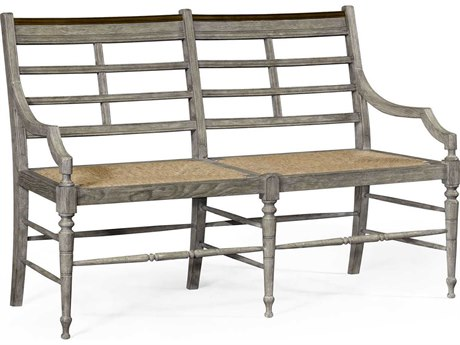Jonathan Charles William Yeoward collected Greyed Oak Finish Bench