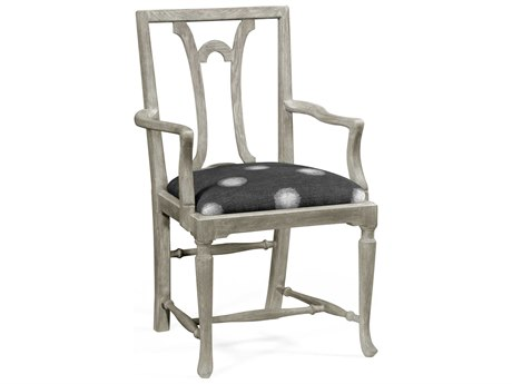 Jonathan Charles William Yeoward collected Greyed Oak Finish Accent Arm Chair JC530136ACGYO
