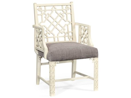 Jonathan Charles William Yeoward Collected - Country House Chic Linen Loxley Occasional Chair JC530166LIN