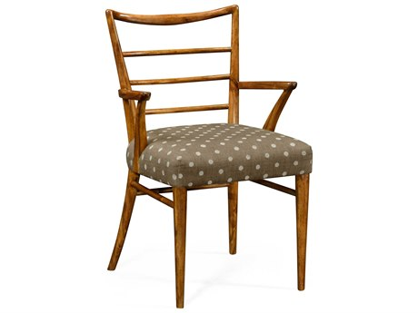 Jonathan Charles William Yeoward collected Grey Fruitwood Dining Arm Chair