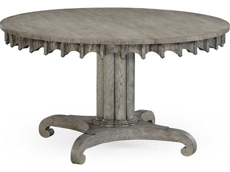 Jonathan Charles William Yeoward collected Greyed Oak Finish Casual Dining Table