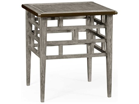 Jonathan Charles William Yeoward collected Greyed Oak Finish End Table