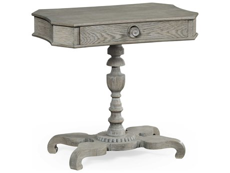 Jonathan Charles William Yeoward Greyed Oak 29.5 x 19.75 Rectangular Console Table