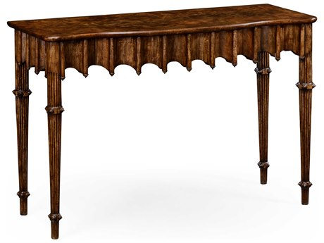 Jonathan Charles William Yeoward Grey Mahogany 50.5 x 19.5 Rectangular Console Table