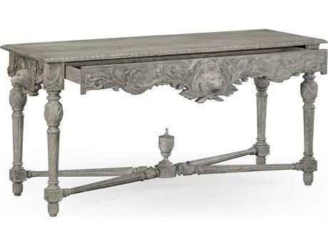 Jonathan Charles William Yeoward Greyed Oak 63.5 x 25.75 Rectangular Console Table