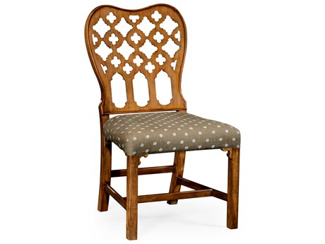 Jonathan Charles William Yeoward Gray Fruitwood Side Dining Chair