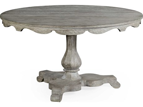 Jonathan Charles William Yeoward Greyed Oak 54 Round Dining Table