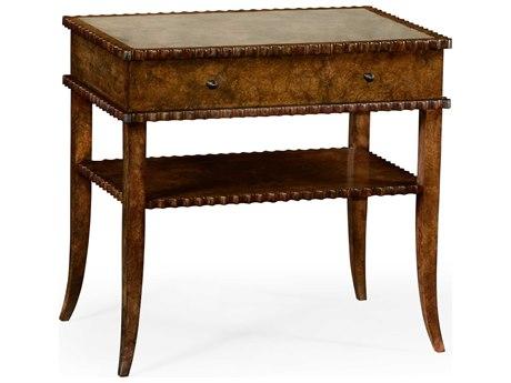 Jonathan Charles William Yeoward Burr Seasoned 30 x 20 Rectangular End Table