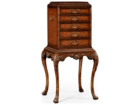 Jonathan Charles Windsor Medium Walnut Console Cabinet JC492172WAL
