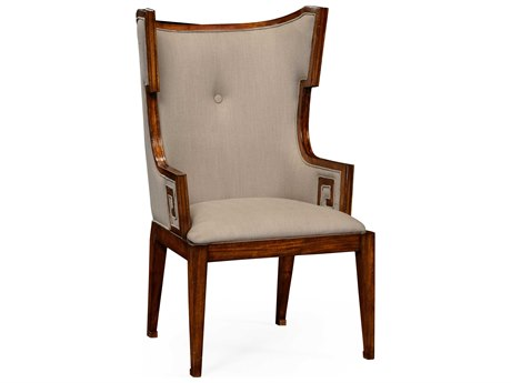 Jonathan Charles Windsor Medium Walnut Accent Chair JC495047ACWALF001