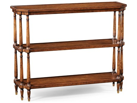 Jonathan Charles Windsor Medium Walnut 48 x 14.75 Rectangular Console Table