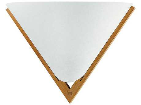 Justice Design Group Domus Konus Beech Small Wood With Translucent Wall Sconce JDDOM8310
