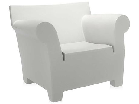 Kartell Bubble Zinc White Club Chair KAR607060