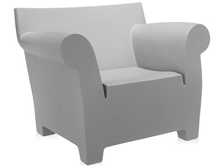 Kartell Bubble Light Grey Club Chair KAR607061