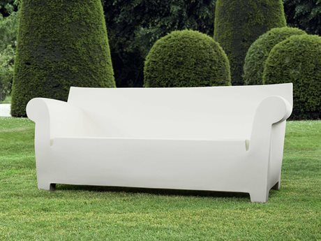 Kartell Bubble Club Zinc White Sofa KAR605060