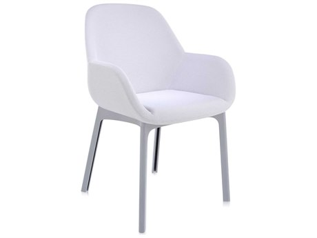 Kartell Clap Light Grey with Grey Legs Accent Chair