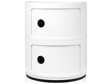 Kartell Componibili White Two-Door File Cabinet KAR496603