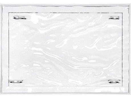 Kartell Dune Crystal Tray (Sold in 4) KAR1200B4