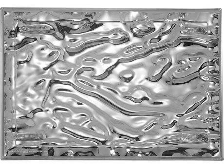 Kartell Dune Chrome Tray (Sold in 4) KAR1201XX