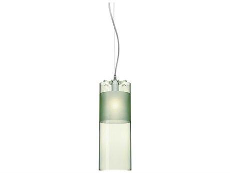 Kartell Easy Transparent Green 5'' Wide Mini Pendant Light