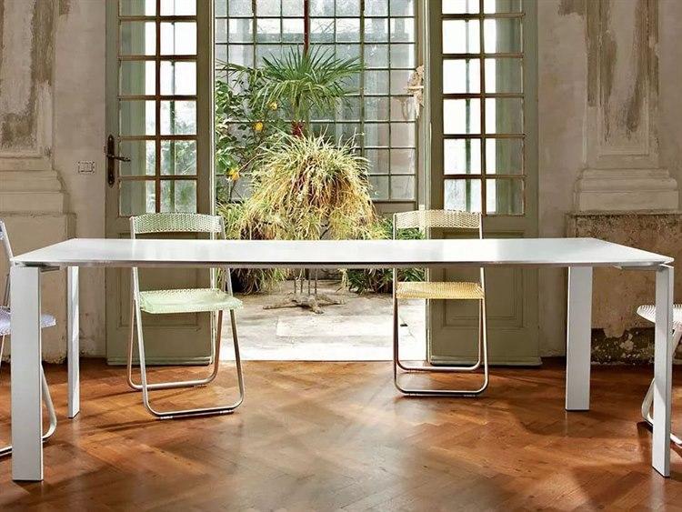 Kartell Four 62 L X 31 W Rectangular Dining Table Kar4502
