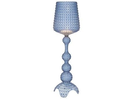 Kartell Kabuki Transparent Light Blue LED Floor Lamp KAR9180AZ