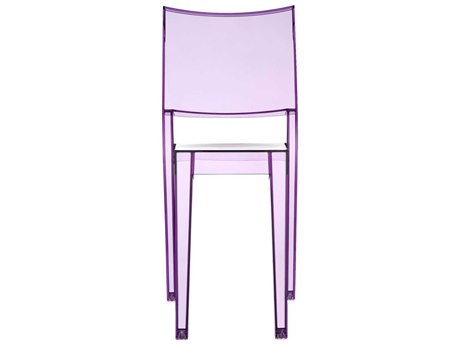 Kartell La Marie Transparent Violet Dining Side Chair (Sold in 2) KAR4850B6