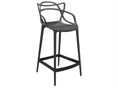 Kartell Masters Black Counter Stool KAR586909