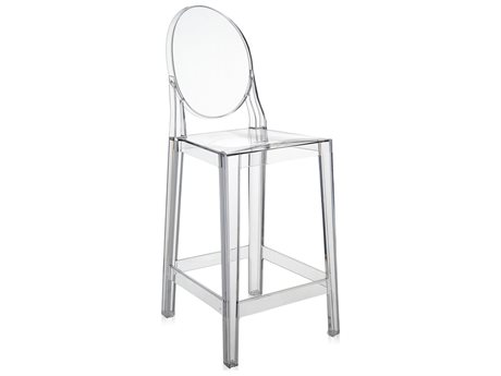 Kartell One More Crystal Counter Stool (Sold in 2) KAR5890B4