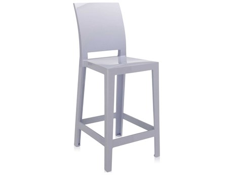 Kartell One More Lavender Counter Stool (Sold in 2) KAR5895G4