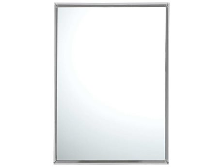 Kartell Only Me Transparent Crystal 20''W x 28''H Rectangular Wall Mirror KAR8320B4