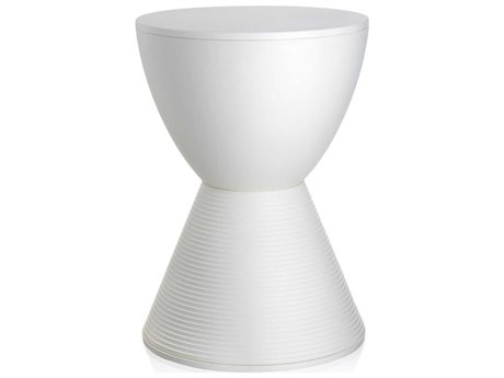 Kartell Prince Aha Wax White Accent Stool