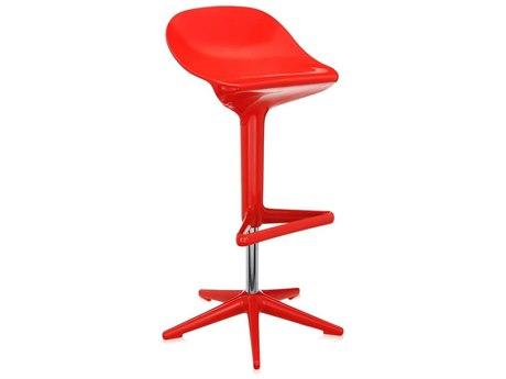 Kartell Spoon Red Bar Stool KAR482810