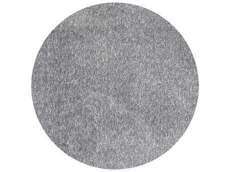 KAS Rugs Bliss Grey Heather Round Area Rugs