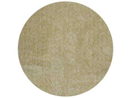 KAS Rugs Bliss Yellow Heather Round Area Rugs