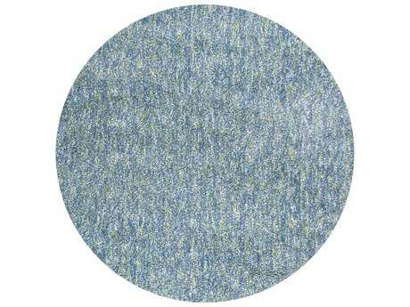 KAS Rugs Bliss Seafoam Heather Round Area Rug