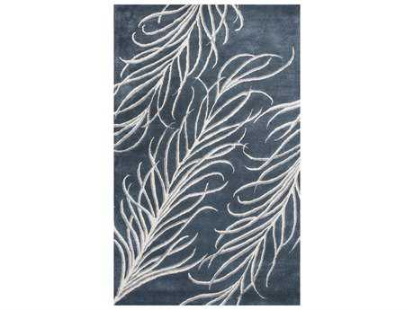 KAS Rugs Bob Mackie Home Grey Rectangular Area Rug KG1009