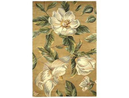 KAS Rugs Catalina Gold Magnolia Area Rug