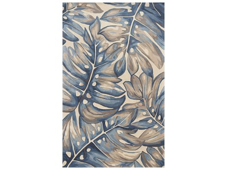 KAS Rugs Catalina Blue Rectangular Area Rug