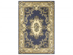 Corinthian Blue Rectangular Area Rug